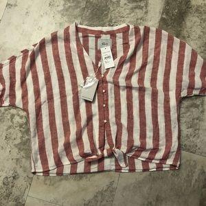 Rails crop shirt